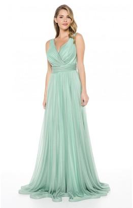 Ladyness Mint Maxi Bridesmaid Dress