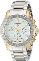 Swiss Legend Women's 'Islander' Quartz Stainless Steel Casual Watch, Color:Two Tone (Model: 16201SM-SG-22)