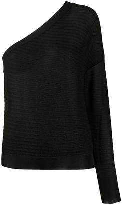Roberto Collina ribbed design knitted top