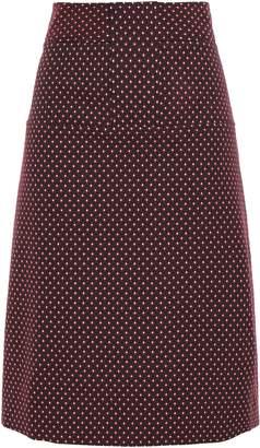 Tory Burch Cotton-blend Jacquard Skirt