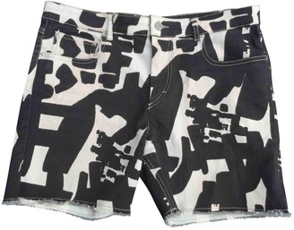 Isabel Marant Black Cotton - elasthane Shorts