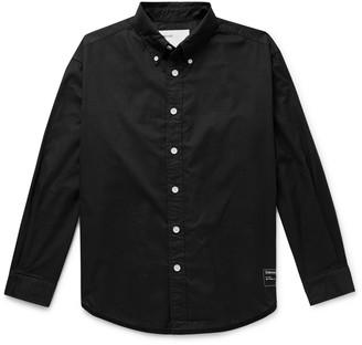 Entireworld Giant Oversized Button-Down Collar Organic Cotton Oxford Shirt