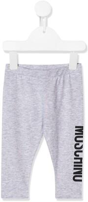 MOSCHINO BAMBINO Logo Print Trousers