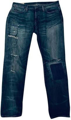 Polo Ralph Lauren Blue Cotton - elasthane Jeans for Women