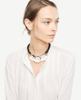 Ann Taylor Floral Statement Necklace