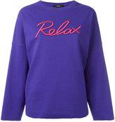 Diesel Relax sweatshirt - women - Cotton/Polyester/Spandex/Elastane - S