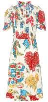Gucci Printed cotton dress