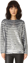 Ashish Reversible Breton Stripe Top