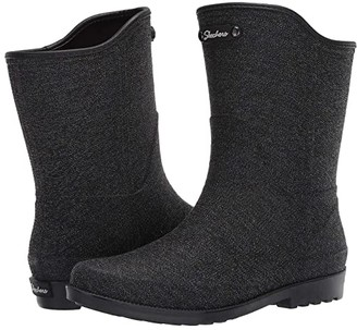 Skechers Rain Drift (Black) Women's Boots