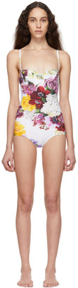 Dolce & Gabbana Multicolor Ortansia One-Piece Swimsuit