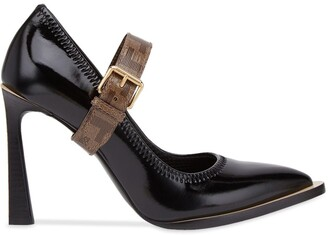 Fendi Mary Jane FFrame court shoes