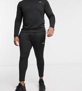Asos 4505 4505 Plus super skinny training jogger in black