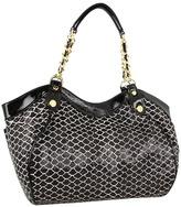 Betsey Johnson Romance Satchel (Black) - Bags and Luggage