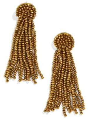 BaubleBar Juliea Beaded Tassel Earrings