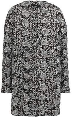 Giambattista Valli Metallic Embroidered Tweed Coat