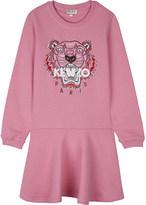 Kenzo Tiger cotton sweatshirt dress 4-16 years
