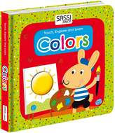 SASSI Touch, Explore and Learn Colours Book