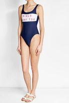 Zoe Karssen Printed Swimsuit