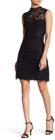 Betsey Johnson Mock Neck Lace Dress