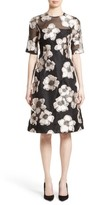 Lela Rose Women's Holly Fil Coupe Fit & Flare Dress