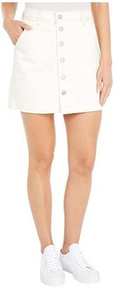 Levi's(r) Premium Button Front Utility Skirt (Snooze Ya Lose) Women's Skirt