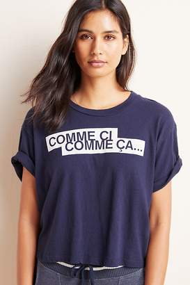 Sundry Comme Ci Graphic Tee