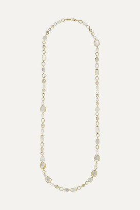 Ippolita Rock Candy Sofia 18-karat Gold, Mother-of-pearl, Quartz And Moonstone Necklace - one size