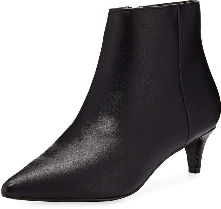 Charles by Charles David Kiss Kitten-Heel Faux Leather Booties