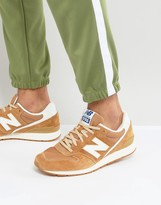 New Balance 996 Suede Trainers In Tan Mrl996kj