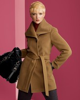 Ellen Tracy Women's Wrap Coat with Toggle