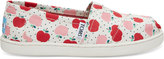 Toms Apples Print Canvas Youth Classics