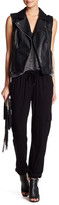 Haute Hippie Solid Drawstring Pant