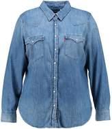Levi's® Plus WESTERN PLUS Shirt lightblue denim