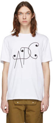 A.P.C. White Ted T-Shirt