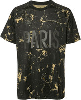 adidas marbled 'Paris' T-shirt - men - Polyester - S