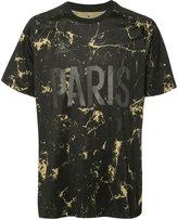 adidas marbled 'Paris' T-shirt