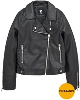 Very Girls PU Biker Jacket