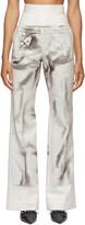 Thumbnail for your product : Jean Paul Gaultier SSENSE Exclusive Off-White Les Marins Trompe L'oeil Bridges Trousers