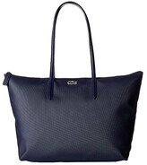 Lacoste L.12.12 Concept Large Shopping Bag (Eclipse) Tote Handbags