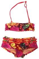 O'Neill Floral Print Bandeau Bikini