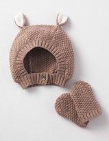 Boden Novelty Hat & Mittens Set