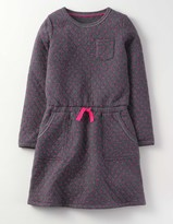 Boden Cosy Quilted Jersey Dress