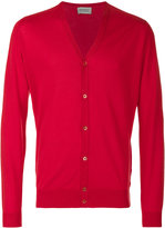 John Smedley V-neck cardigan - men - Cotton - S