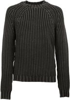 Tod's Black Cable Knit Jumper