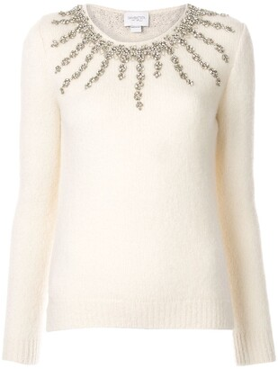 Giambattista Valli Embellished Fitted Sweater
