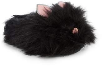 Steve Madden Girl's Jcatty Faux Fur Slippers
