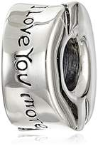Chamilia Sterling Silver I Love You, I Love You More Bead Charm