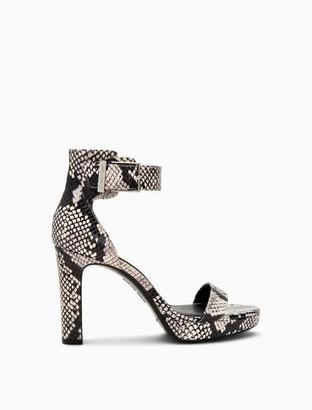 Calvin Klein Milana Snake Print Sandal