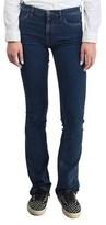 Prada Women's Cotton Polyester Blend Slim Fit Jean Pants Indigo.