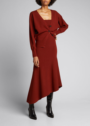 A.L.C. Jasper Long Asymmetric Skirt